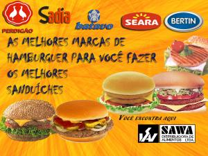 Hamburguer Empresa: Sawa Alimentos