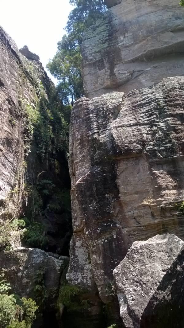 Paredão do Canyon do Rio São Jorge