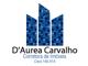 D´Aurea Carvalho Corretora de Imóveis, cliente desde 19/07/2016
