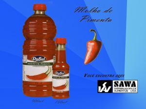 Molho de Pimenta Empresa: Sawa Alimentos