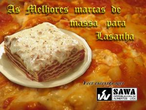 Lasanha Empresa: Sawa Alimentos