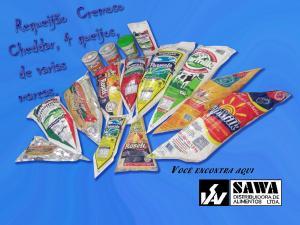 Requeijão Cremoso Empresa: Sawa Alimentos