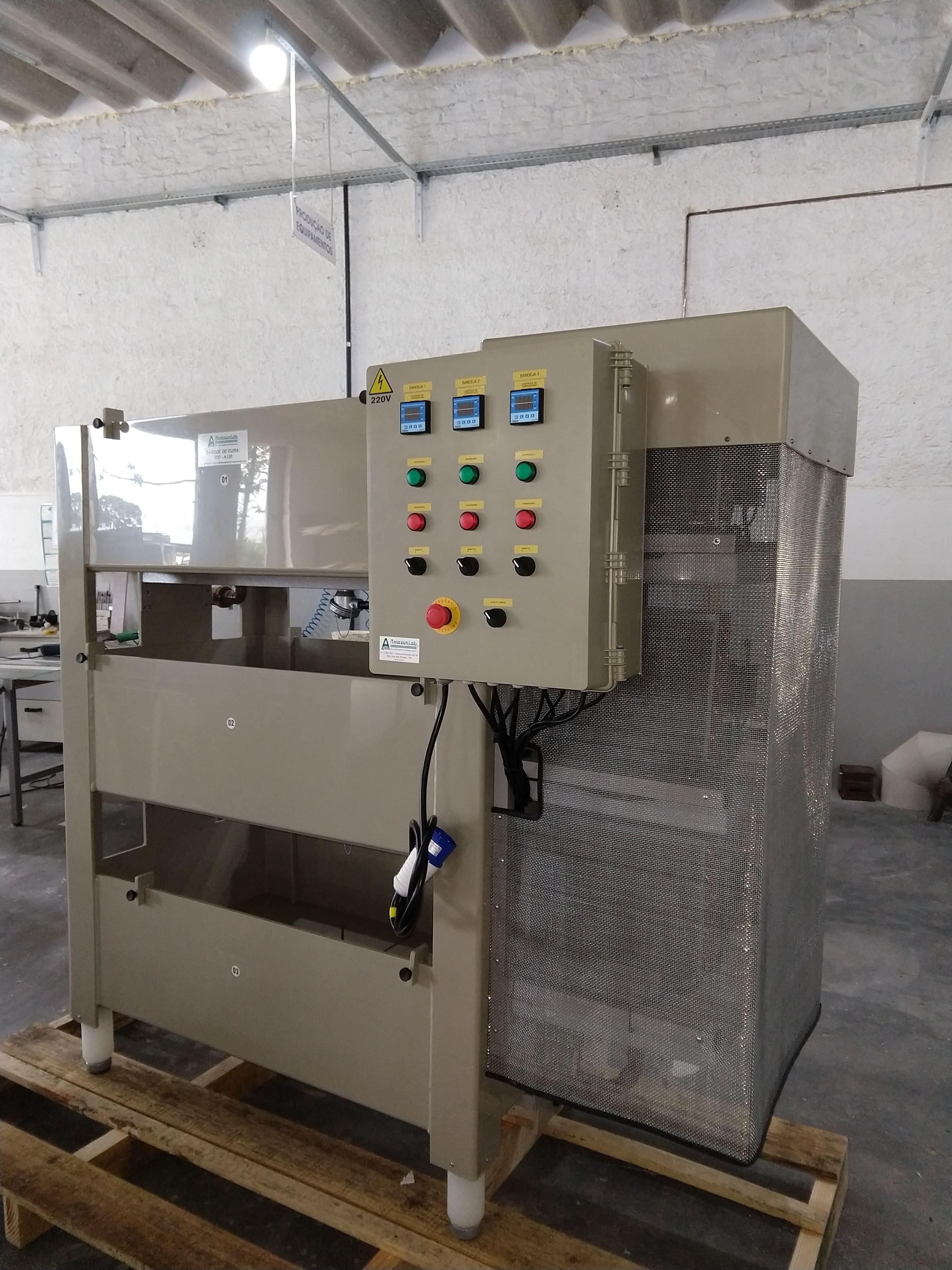 Foto do produto Tanque de Cura com Aquecimento e Refrigeração