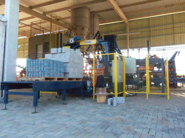 Cuber teste em fábrica