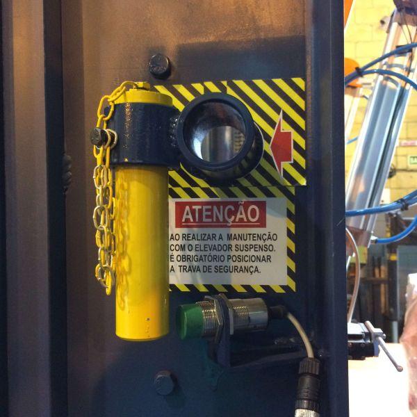 Sistema de segurança em equipamentos