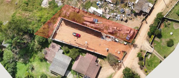 Topografia aérea c/ Drones Empresa: T27 Fotos e Vídeos