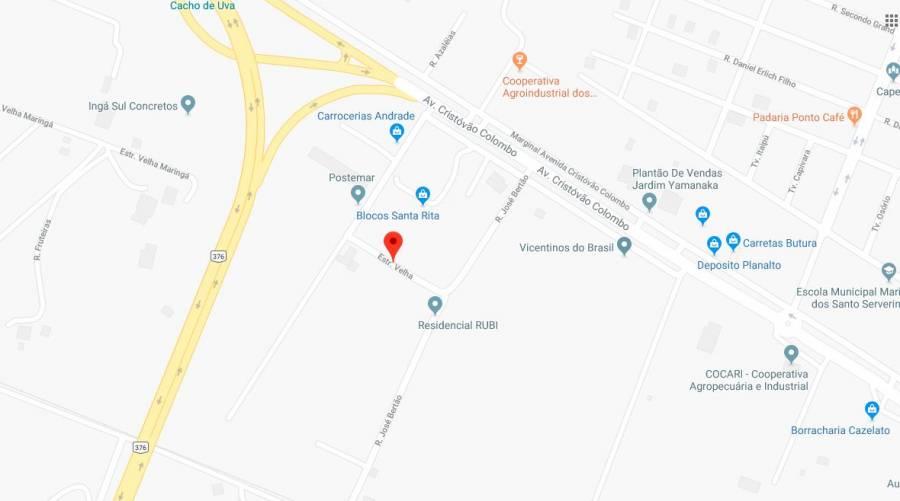 Venda - Terreno - 267,80m² - MARIALVA
