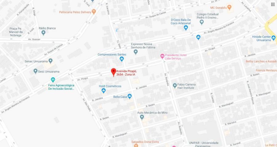 Venda - Comercial - 3.692,80m² - UMUARAMA