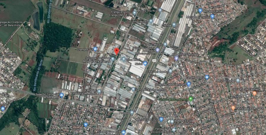 Venda - Terreno - 3.785,63m² - ARAPONGAS