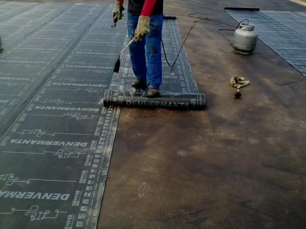 manta asfaltica arena baixada