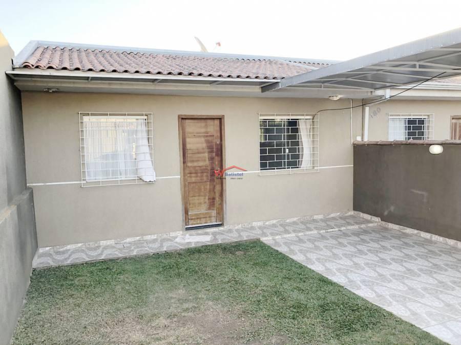 Casa com 3 dormitórios sendo um suíte à venda, 59,90 m² - R$ 265.000,00 – Rua Ângelo Milani Scremin, 180 – Jardim Monza – Colombo/PR
