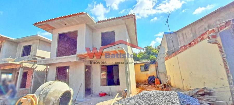 Sobrado com 3 dormitórios à venda, 106,37 m² - R$ 350.000,00 – Rua Vereador Miguel Costa Curta, N°791 – Maracanã Colombo-PR
