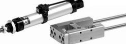 Imagem contendo alguns componentes da Série 1230-1260-1280 - Micro Cilindro Norma ISO 6432