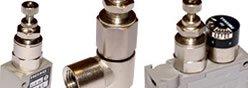 Imagem contendo alguns componentes da Série 1700 - Redutor de Pressão Miniaturizado