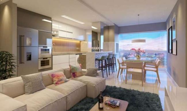 Otimo Apartamento com 02 Suites + 02 vagas Localizado no Cen