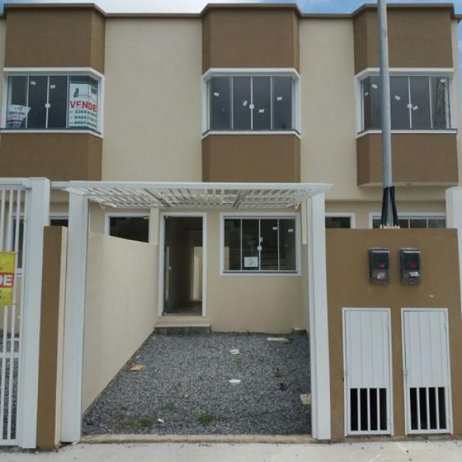 JA-CAMBORIU-08 Lindo sobrado com 02 dormitórios no bairro Ri