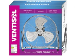 Circulador de ar Turbo Chrome Ventisol