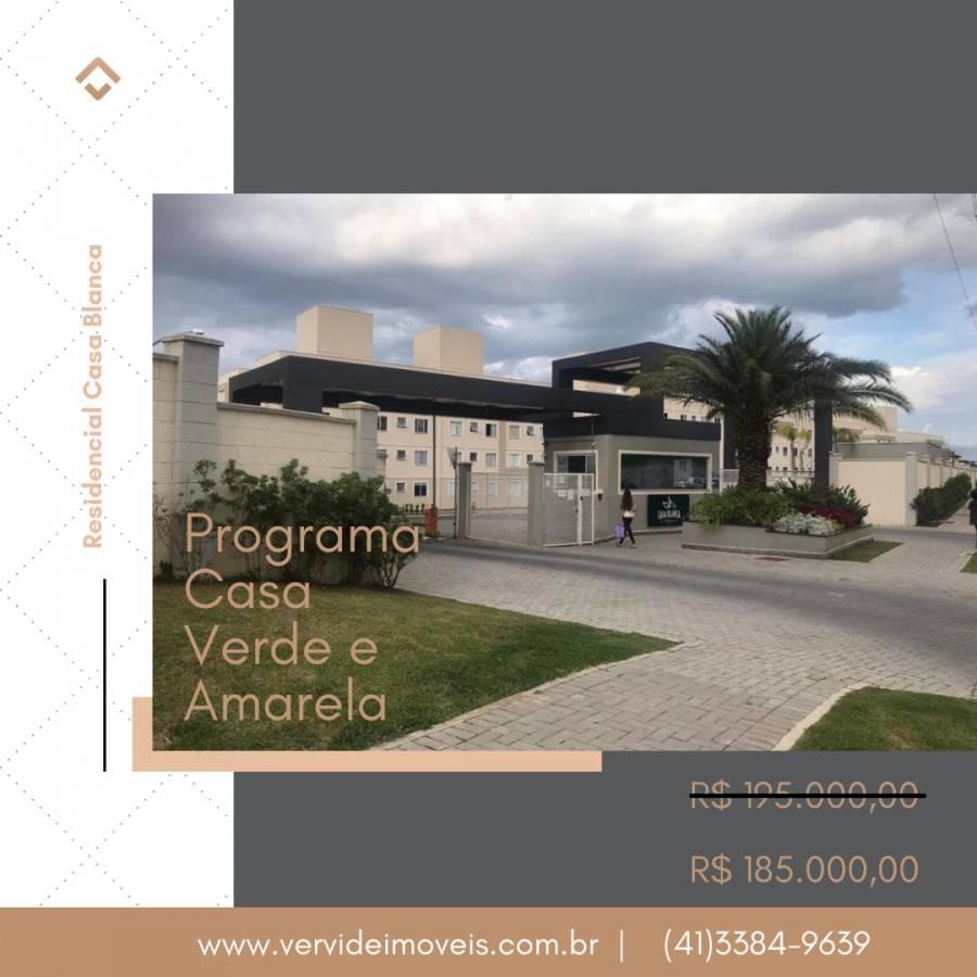 Vende-lindo apartamento - Colônia Rio Grande - São José dos Pinhais